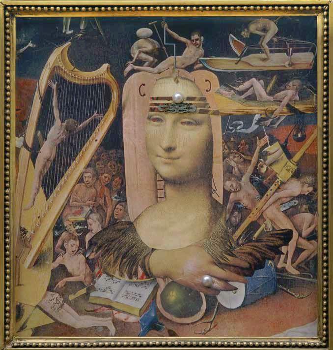 Sergei Parajanov, collage