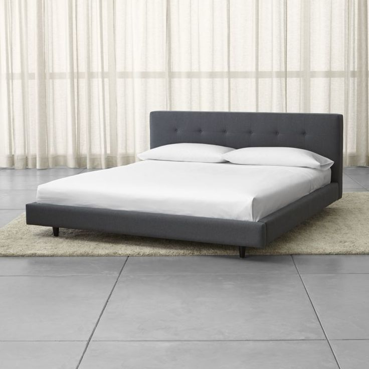 Tate Upholstered California King Bed   Crate and Barrel. Best 25  Upholstered king bed frame ideas on Pinterest   King size
