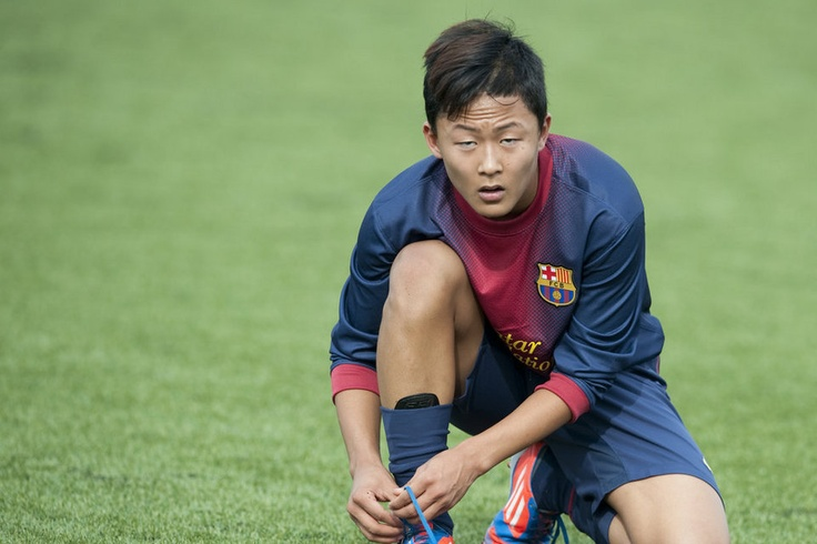 Lee Seung Woo, F.C. Barcelona