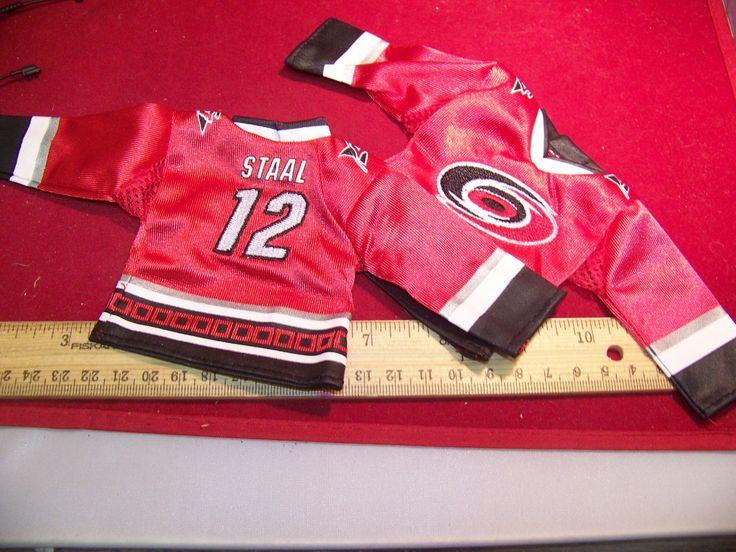 1:6th Scale Staal #12 Carolina Hurricanes Hockey Jersey