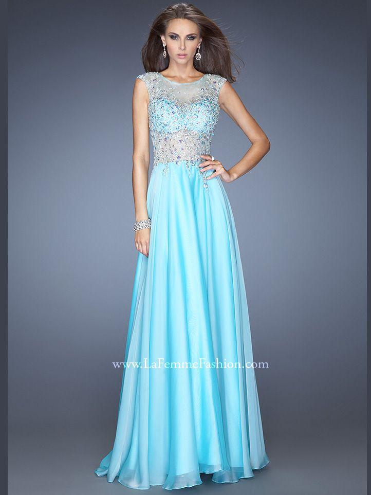 293 best ideas about dresses on Pinterest | Chiffon evening ...