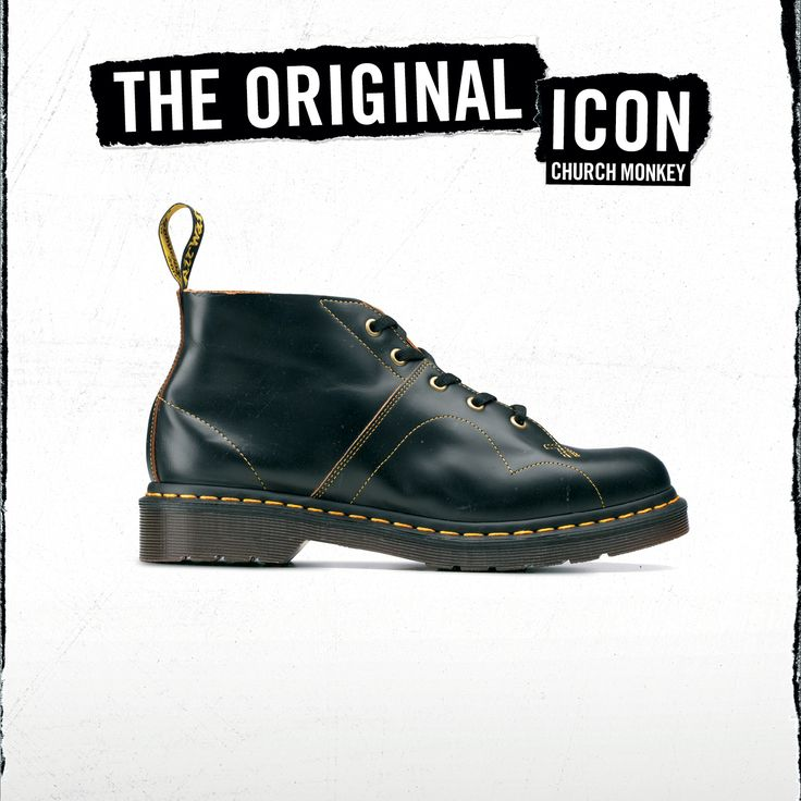 The Church Monkey Boot. A Dr. Martens take on a style that was first worn by the Czech army in the 40s, they wore the boot because of its toughness and durability. Do you have a pair?
