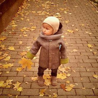 SALE. Felted Boy Jacket wool coat wool baby coat by DressInFelt