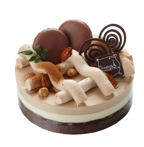 Paris Baguette's chocolate cake♥