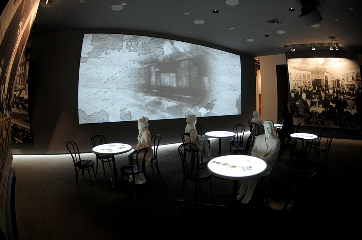 © 2012 KRAFTWERK Living Technologies // Museum of Jewish History & Tolerance Center, Moscow // TURN ON UNITED TECHNOLOGIES