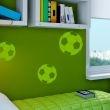 (3136n) Nálepky na stenu - Futbalová lopta