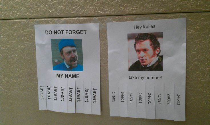 A little Les Mis humor? Bah hahahah. If only other ppl in my life could appreciate this like I do...