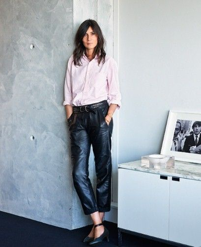 Emmanuelle Alt - The editor-in-chief of Vogue Paris since February 2011. Photo: Jonathan Frantini.