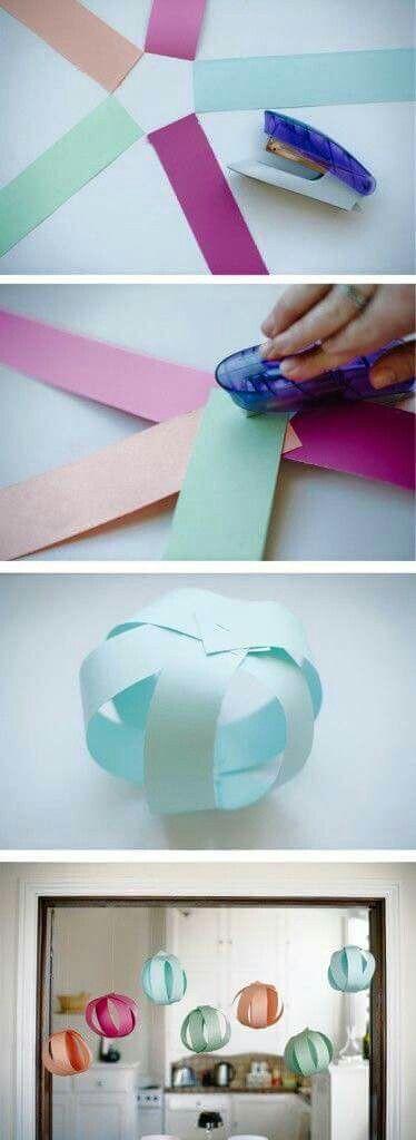 Szülinapi dekoráció papír gömb