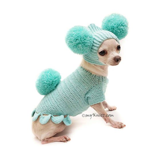 Bunny Easter Dog Outfit Cute Bunny Pet Costume Pom Pom Dog Hat