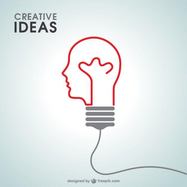 Creative Ideas Free Vector