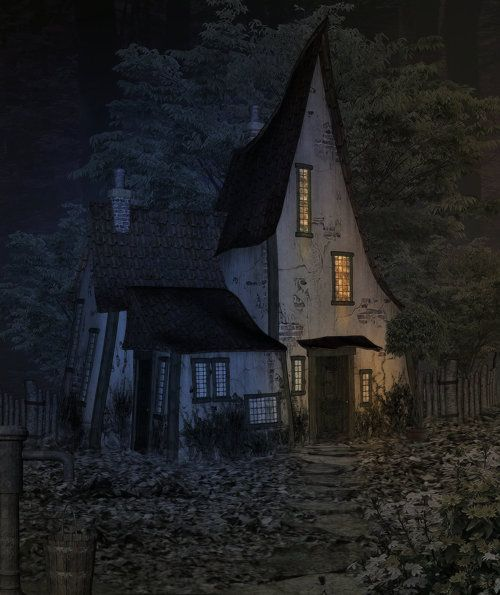 Witch Cottage, Witch House, Cottage