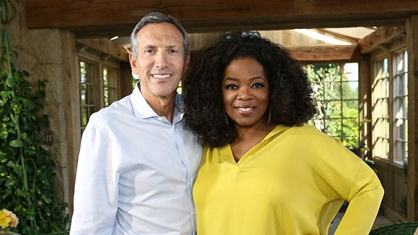 First Look: Oprah and Starbucks CEO Howard Schultz - Video - @Helen George #supersoulsunday