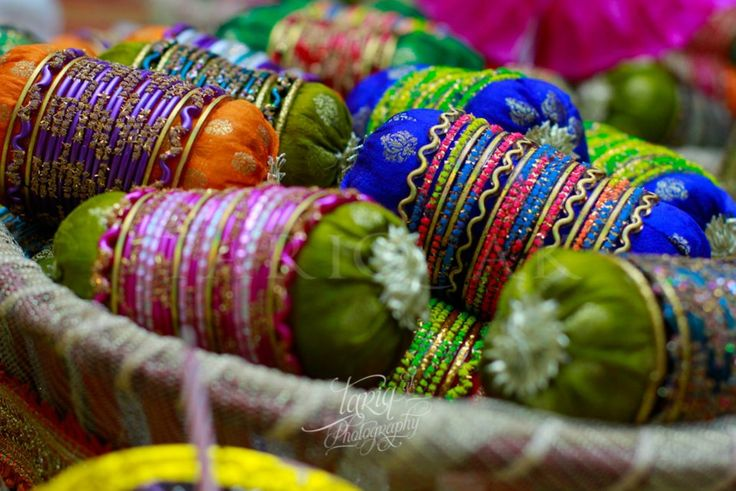 Bangles as give always for mehendi