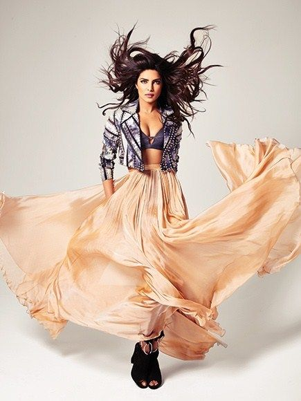 Priyanka Chopra On The Cover Of Emmy Magazine May 2016  VIsit  www.celebgalaxy.com