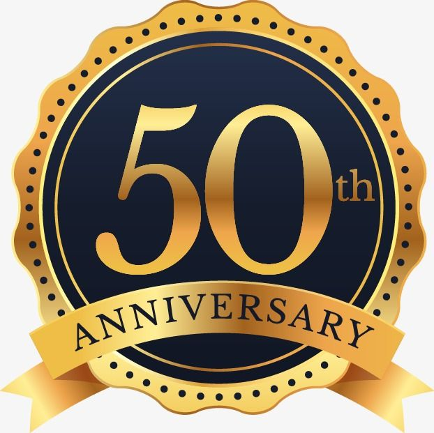 للاحتفال بالذكرى الخمسين للملصق الذكرى ال 50 احتفل ضع الكلمة المناسبة Png وملف Psd للتحميل مجانا Creativo
