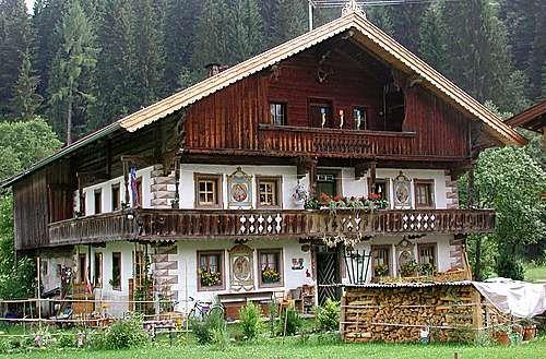 Tyrolean farm house