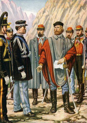 Garibaldi is asked to halt the campaign in Trentino