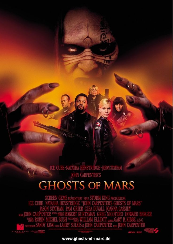 #Movies #Movie #Review Ghosts of Mars - Review: Horror legend icon John Carpenter directed Ghosts of Mars (2001) on a $28 million…