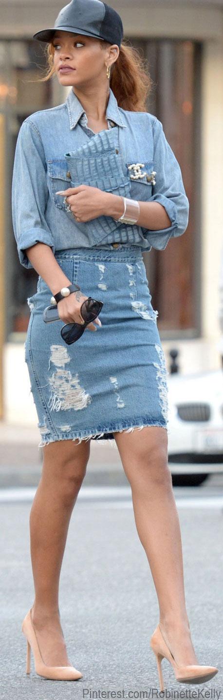 Street Style | Rhianna