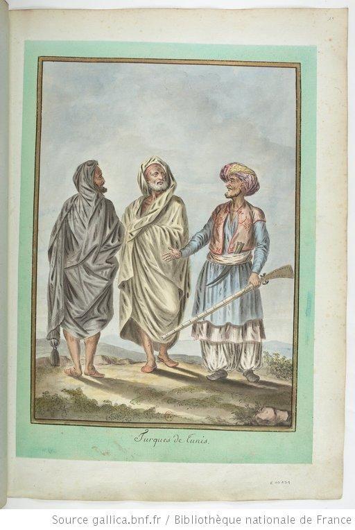 Turques de Tunis : [dessin] / [François-Marie Rosset] - 1