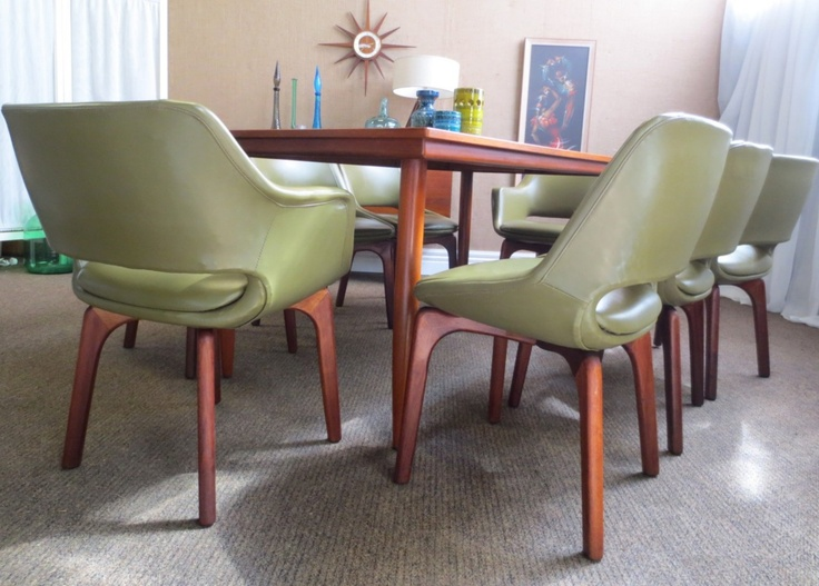 DANISH DELUXE DINING CHAIRS 1980