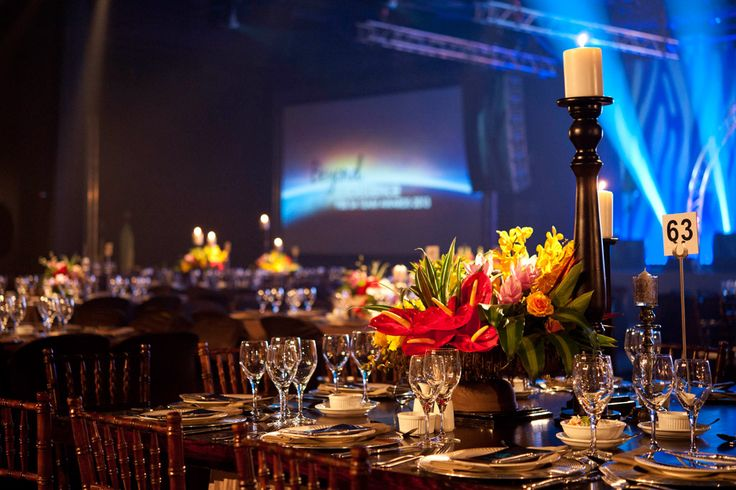 Transform Indaba Gala Dinner - Table Decor by WrxGrp