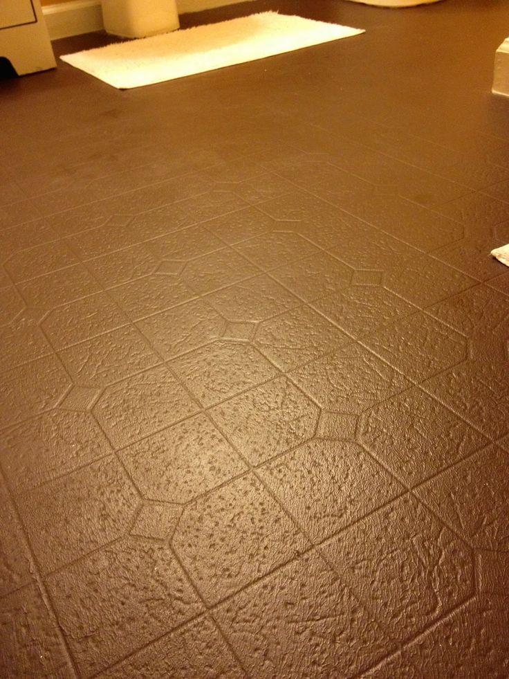 1000 ideas about painted vinyl floors on pinterest paint vinyl floors painting linoleum. Black Bedroom Furniture Sets. Home Design Ideas