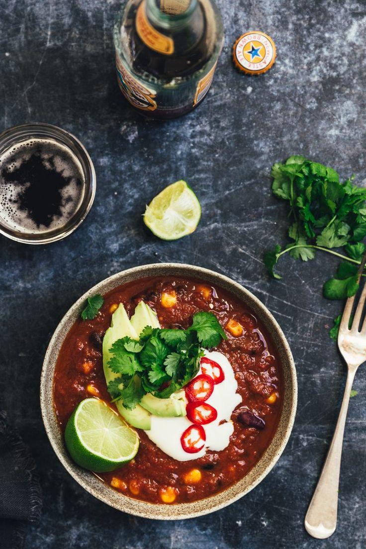 Grøn gryderet / Chili sin Carne - The Food Club