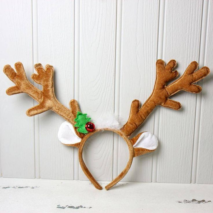 46 best a very mary sheikhy christmas images on pinterest for Reindeer antlers headband craft