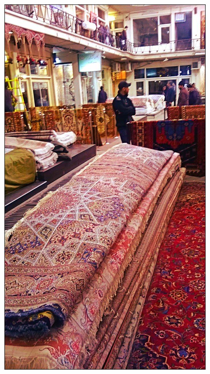 The Carpet Museum Amp Showroom Within Tehran Grand Bazaar
