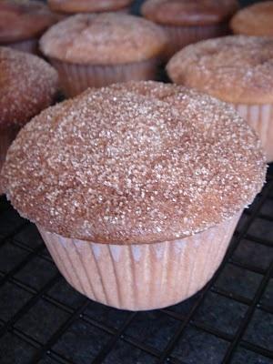 Cinnamon Buttermilk Muffins