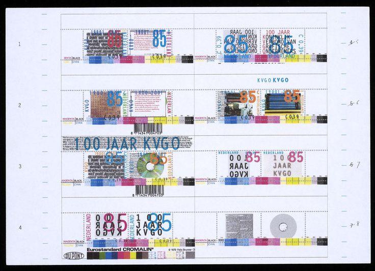 Karel Martens - Postage Stamp Designs