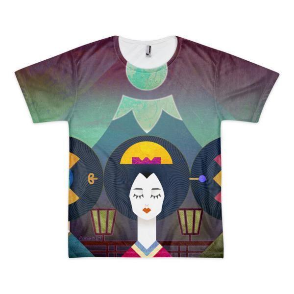 Shapes of Mikado, Sublimation T-Shirt