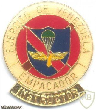 VENEZUELA Army Parachute Rigger Instructor qualification badge