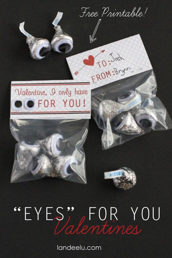"""Eyes"" for YOU Easy Valentine Idea - Landee See Landee Do"