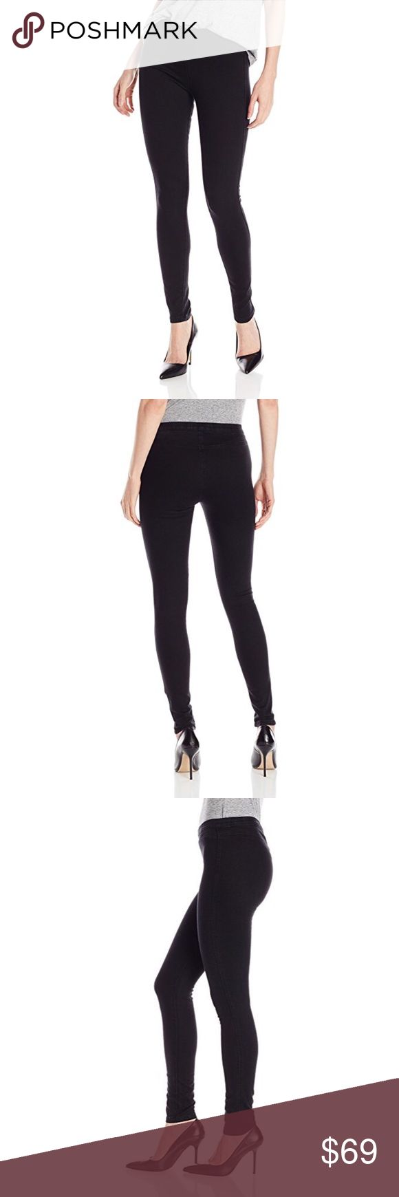 NWT American Apparel Pull-On Legging Jeans Black NWT American Apparel pull-on legging denim in black - same material/fit as American Apparel's easy jeans. Form-fitting, a forgiving elastic waistband with a mid-high-rise - this is the ultimate in comfy denim that looks AMAZING on. Soft but still denim feels and look in a black wash. 77% cotton, 21% polyester, and 2% elastane. No damage, no wear - perfect new condition! Offers welcome/add to a bundle & ill send a private discount! Free gifts…