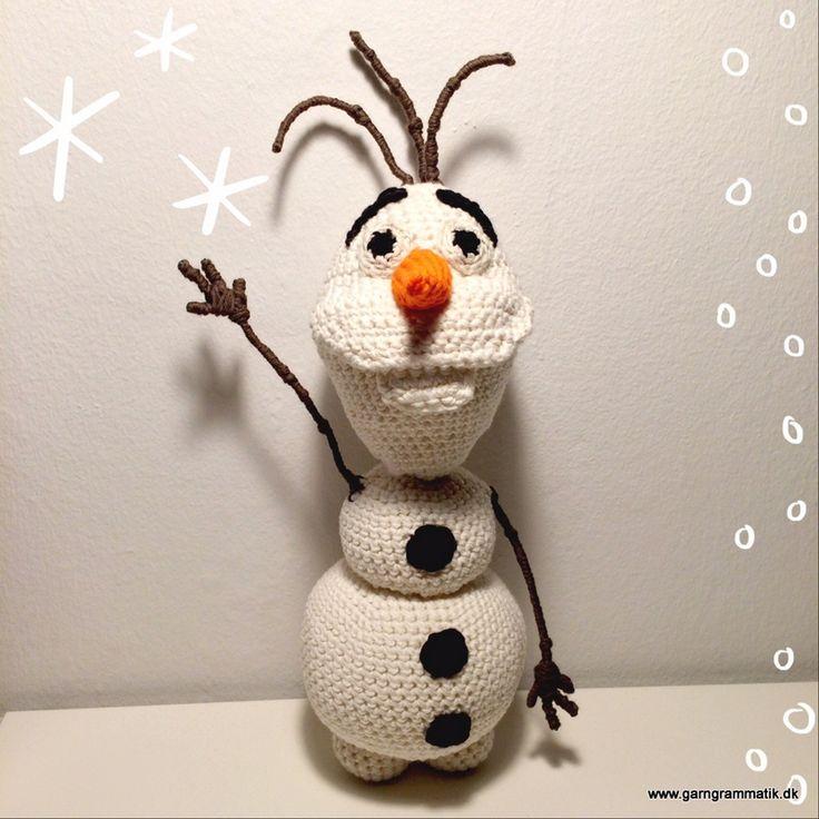 Hæklet Olaf (Snemanden fra Disney's Frost)