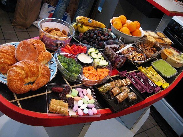 Film Set Food Ideas