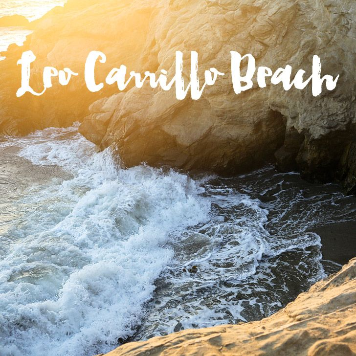 This week's local adventure is Leo Carrillo State Beach in Malibu CA. See why it's one of our favorite beaches in SoCal, Also link up YOUR local adventures!