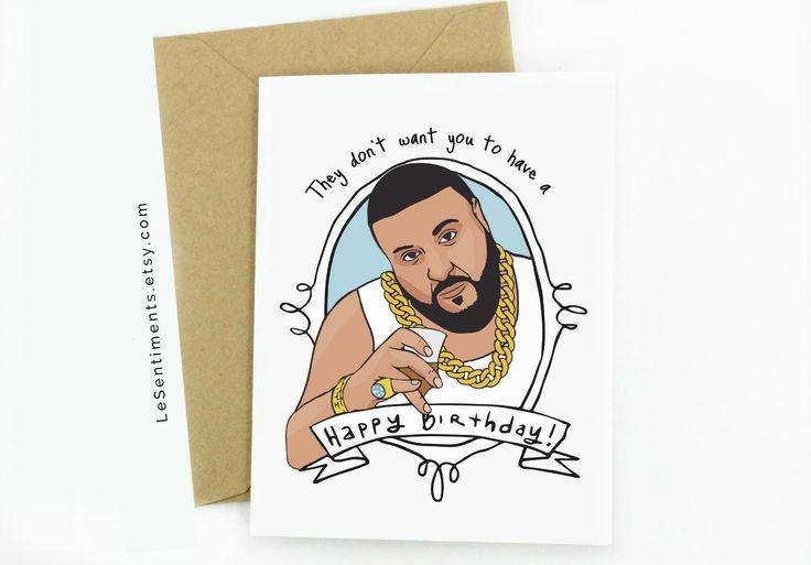 Funny DJ Khaled Birthday Card #DJKhaled #BirthdayCard #FunnyBirthdayCard #Birthday #HappyBirthday #FunnyCard #funnyquote #Etsy #etsycards #Birthdaygifts #birthdaygift #success #quotes #quote #funnyquote #meme #funnymeme #Instagram #snapchat #lol