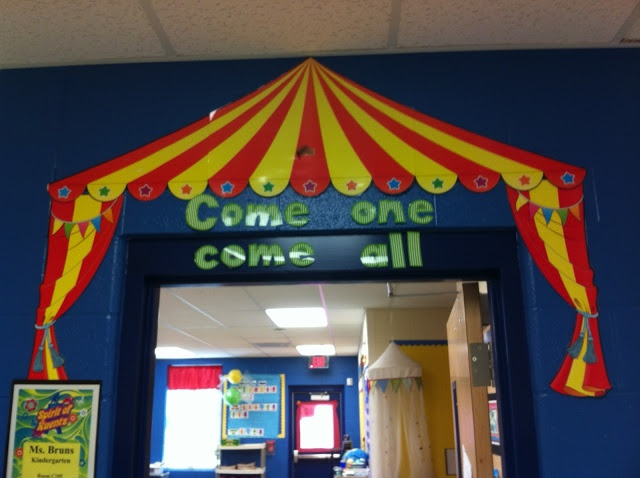 Circus Classroom Decoration : Circus theme carnival pinterest