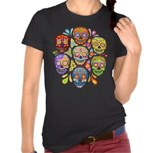 Day of the Dead Sugar Skull Shirt http://www.branddot.com/14/day_of_the_dead_sugar_skull_shirt-235879722969182039