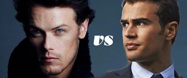 It's a TN Faceoff: Theo James vs Sam Heughan - That's NormalThat's Normal   #icantchoose  LOL!