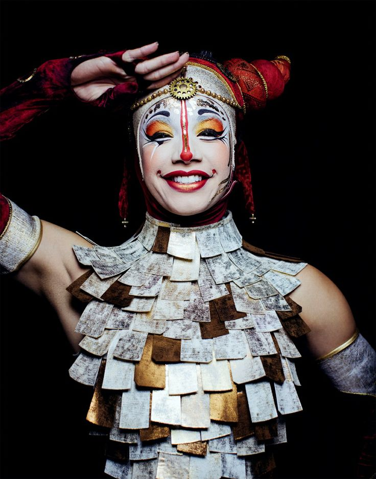 Photo Shoot with Cirque du Soleil for Allure Magazine
