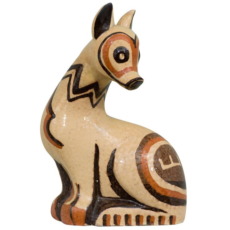 ART DECO ANIMAL FIGURE BY COLETTE GUEDEN FOR PRIMAVERA | From a unique collection of antique and modern figurines at https://www.1stdibs.com/furniture/dining-entertaining/figurines/