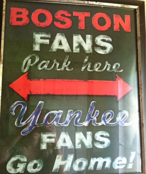 Red Sox fans! I NEED this, after all there is quite the surplus of Yankee's fans in this town : ( Oh well, at least there's a lot of us good guys here too!