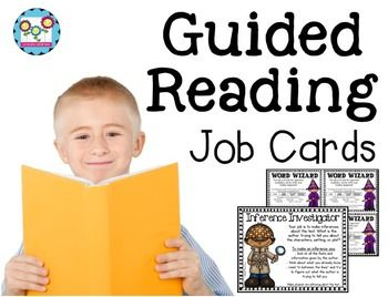 Guided Reading Job Cards and Posters - Your 2nd, 3rd, 4th, 5th, and 6th grade classroom and homeschool students will be all set for guided reading jobs with these 12 posts and 12 cards that can be used for guided reading OR literature circles. You will notice increased accountability and engagement during your reading blocks. Click through to grab yours now! $ {second, third, fourth, fifth, sixth graders}