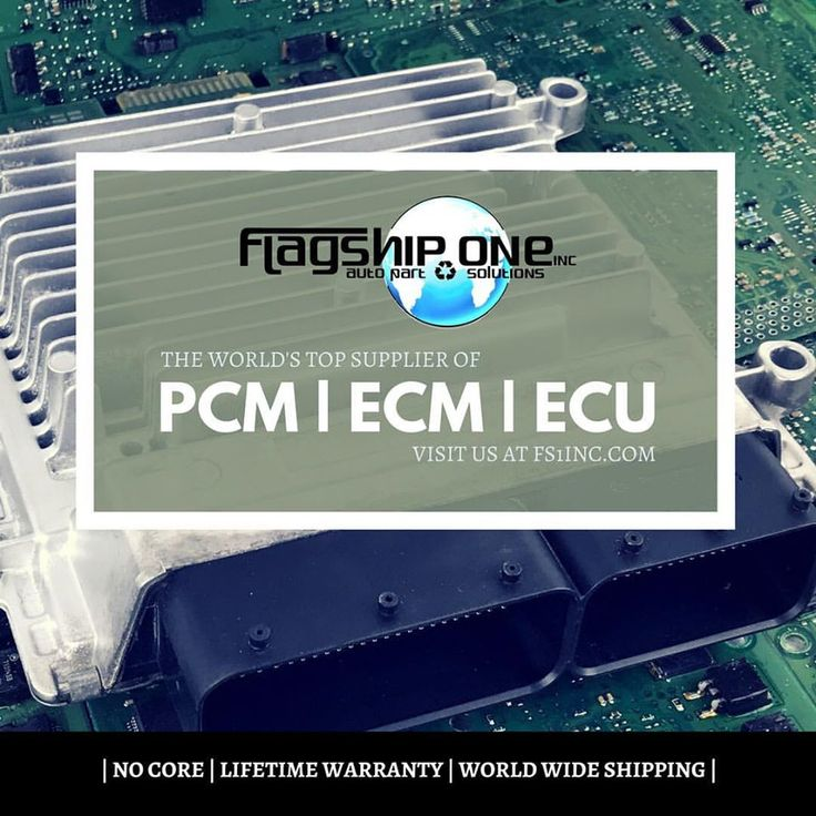 Flagship One, Inc. is the world's top supplier of programmed OEM (Original Equipment Manufacturer) Powertrain Control Modules (PCM), Engine Control Modules (ECM), Ignition Control Modules (ICM), Body Control Modules (BCM), Transmission Control Modules (TCM), and all other car control units. http://www.fs1inc.com/