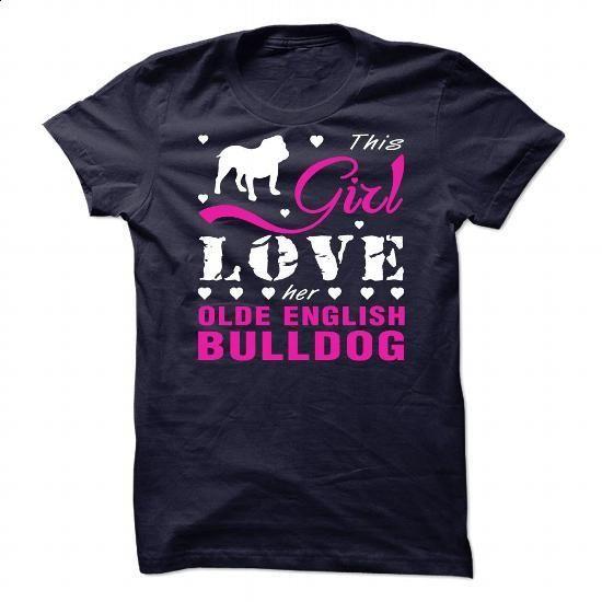Olde English Bulldog - #free t shirt #hoddies. PURCHASE NOW => https://www.sunfrog.com/Pets/Olde-English-Bulldog-87935638-Guys.html?60505